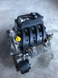 Motor duster megane oroch 2017 1.6 original