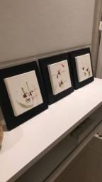 Trio de quadros