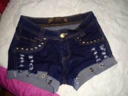 Vendo um short jeans e uma calça