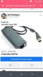Fonte de xbox 360 fat