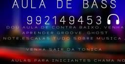 AULA DE CONTRA BAIXO leia a descrição