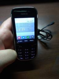 Celular Nokia Asha 202 novíssimo. Com película original - Dual chip