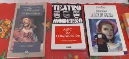 Livros de literatura em excelente estado