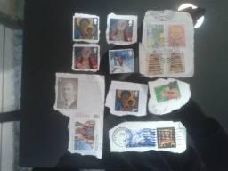 Selos de carta raros - Para colecionador