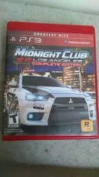 Jogo PS3 midnightclub Los Angeles