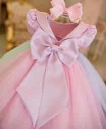 Vestido Candi Colors 6 anos. (Tie Dye)