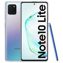 Samsung Galaxy Note 10 Lite 128GB/6GB Ram Tela 6.7 Anatel Lacrado NF Pronta Entrega