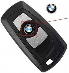Logo Emblema Adesivo BMW 11mm chave - Key fob - chave canivete