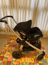 Carrinho Bébé Confort Elea + Bebê conforto com base