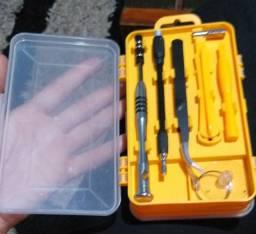 110 em 1 chave de fenda multifuncional conjunto relógios e telefone ferramentas de reparo.
