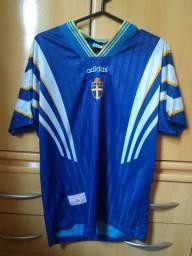 Camisa antiga Suécia- oficial
