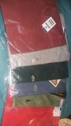 Três camisas por 100$