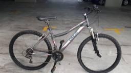 Bicicleta MTB Caloi Htx Sport Feminina 21v Usada