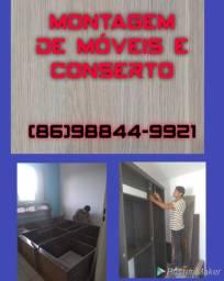 Montagem e conserto de móveis