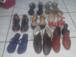 15 calçados femininos tamanho 37 por 99$td