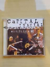 Cd Capital Inicial - Acústico Mtv