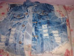 Jaqueta jeans Linha Stylo