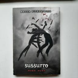 Livro Sussurro saga Hush Hush
