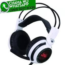 Entrega Grátis * HeadSet Fone Gamer Knup KP-400 Led