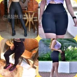 Calça e shorts modelador P M G GG