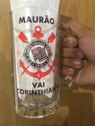Caneca Vidro Corinthians Personalizada