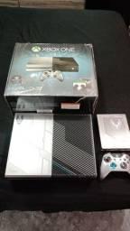 Xbox one edição especial Halo 5 impecável! Sou de Itu