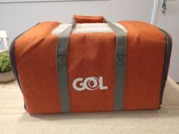 Bolsa caixa transporte viagem pet gol