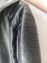 Jaqueta de couro Adulto