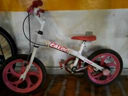 Bicicleta caloi aro 16 menina criança feminina bike