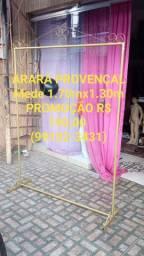 ARARAS PROVENÇAL DESMONTÁVEL. R$ 1.70mX1.30m. R$ 190,00.