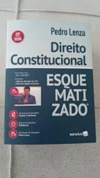 Livro Direito Constitucional Esquematizado Pedro Lenza + Livro Oratoria  Retirada no Local
