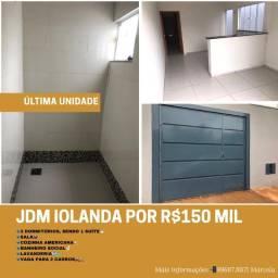 Casa no Jdm Iolanda por R$150mil