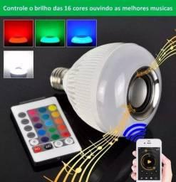 Lâmpada musical Bluetooth com jogo de luz RGB