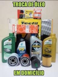 Troca de óleo em domicílio com KITs de óleos e filtros para carros