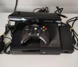 Xbox 360 Super Slim 500gb com Kinect 1 Controle sem cabo com carregador + Jogos