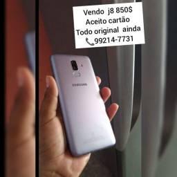 Samsung  j8 Todo original  64GB biometria  aceito cartão