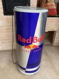 Geladeira Cooler Red Bull Cilíndrico 220v