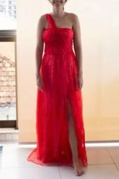 Vestido de Festa Vermelho Tamanho 38 a 42