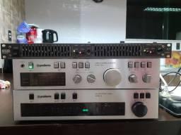 01 Gradiente amplificador 166.-01 Gradiente  Tuner Sterio 09-Equalizador Rane ME 15