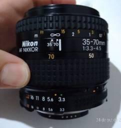 Lente Nikon/Nikkor AF - 35-70mm F3.3 - 4.5