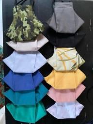 Máscaras de Tecido- 3D