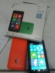 Lumia 530 na caixa com nota fiscal