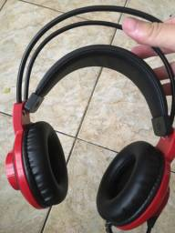 Fone headset gamer MSI DS501