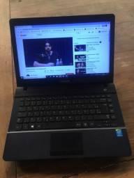 Notebook Sansung core i3 4gb Hd 500 semi novo