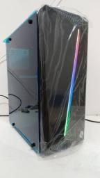 CPU i3 Gabinete gamer RGB