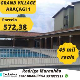 Grand Village Araçagy com parcela de 572 reais!