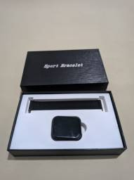 Smartwatch P80 sport Pulseira Milanese + Pulseira Extra<br><br>