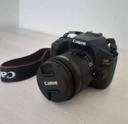 Canon sl3 com lente 18-55mm filma 4k
