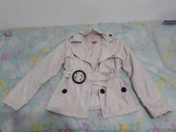 Casacos/Sobretudo e blusa de lã