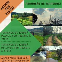 hb. VENDO TERRENOS PLANOS DE 1000M2 PARA CHÁCARAS
